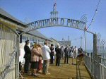 Southwold Pier – opening ceremony 2001